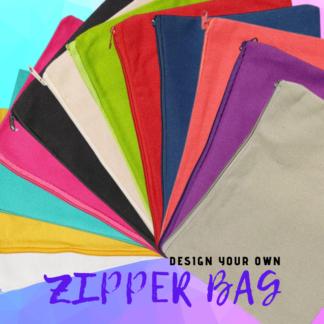 CUSTOM DESIGN YOUR OWN ZIPPER BAG