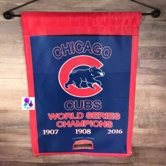 Chicago Cubs World Series Champions Garden Flag by Cr8tive Release Gifts