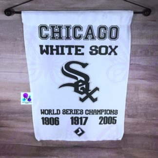 Chicago White Sox Garden Flag by Cr8tive Release Gifts