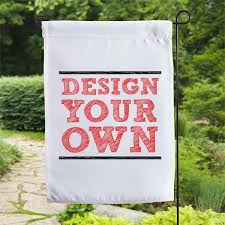 CUSTOM DESIGN YOUR OWN GARDEN FLAG BY CR8TIVE RELEASE GIFTS