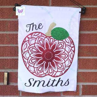Mandela Apple Garden Garden Flag by Cr8tive Release Gifts
