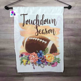 Touchdown Season Garden Flag by Cr8tive Release Gifts