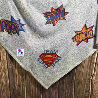 SUPER HERO BLANKET BY CR8TIVE RELEASE GIFTS