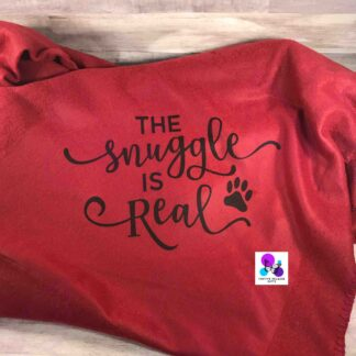 The Snuggle is Real Blanket by Cr8tive Release Gifts