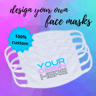 Design Your Own Face Mask by Cr8tive Release Gifts
