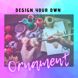Custom Design Your Own Ornament by Cr8tive Release Gifts