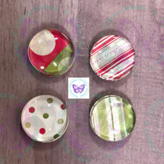 Christmas Glass Bubble Magnet by Cr8tive Release Gifts