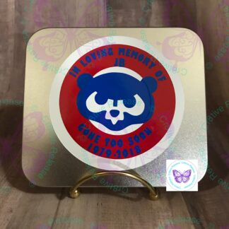 Chicago Cubs Memorial Bumper Magnet by Cr8tive Release Gifts