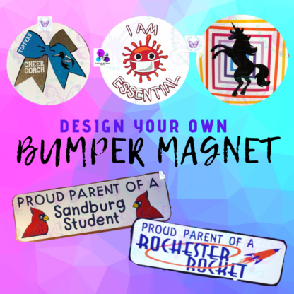 Custom Design Your Own Bumper Magnet