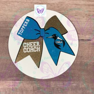 TMLA TOPPERS CHEER COACH BUMPER MAGNET BY CR8TIVE RELEASE GIFTS