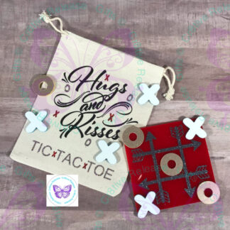 HUGS & KISSES TIC-TAC-TOE BY CR8TIVE RELEASE GIFTS