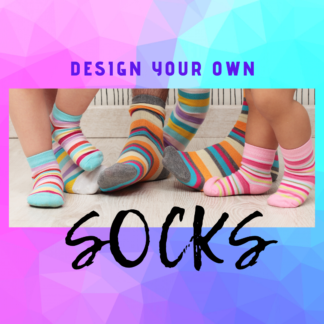 Custom Design Your Own Socks by Cr8tive Release Gifts