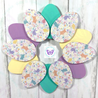 EASTER EGG ACRYLIC WREATH BY CR8TIVE RELEASE GIFTS