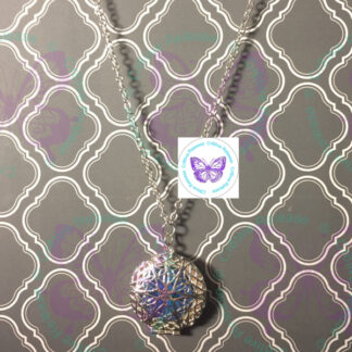 FILIGREE LOCKET DIFFUSER NECKLACE BY CR8TIVE RELEASE GIFTS