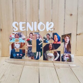2021 SENIOR ACRYLIC PLAQUE WITH STAND BY CR8TIVE RELEASE GIFTS