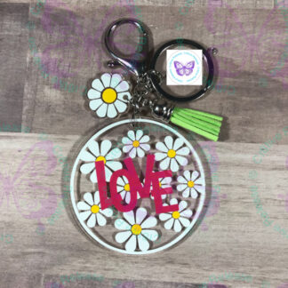 DAISY LOVE KEYCHAIN BY CR8TIVE RELEASE GIFTS