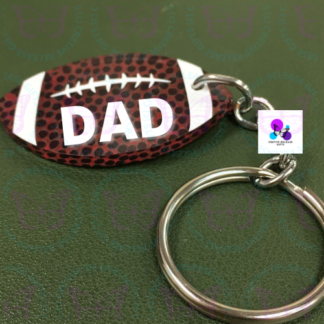Football Keychain by Cr8tive Release Gifts