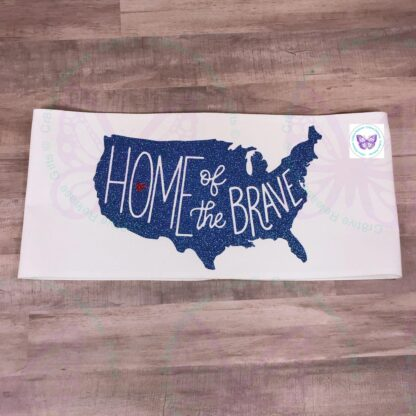HOME OF THE BRAVE PILLOW BAND BY CR8TIVE RELEASE GIFTS