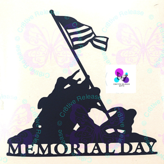 Memorial Day Decal by Cr8tive Release Gifts