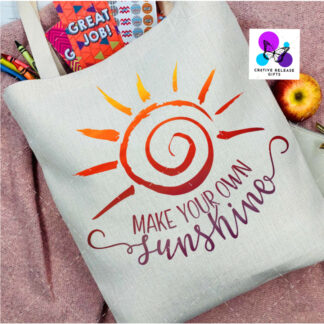 Make Your Own Sunshine Bag by Cr8tive Release Gifts