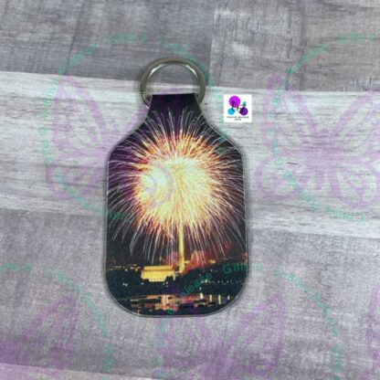 PATRIOTIC HAND SANITIZER HOLDERS BY CR8TIVE RELEASE GIFTS (3) - R