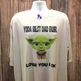 Yoda The Best Dad Ever T-Shirt by Cr8tive Release Gifts