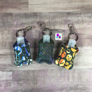 HALLOWEEN HAND SANITIZER HOLDER BY CR8TIVE RELEASE GIFTS